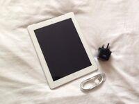 "Apple iPad 4th Generation (iPad 4) - Wifi & 4G (unlocked to all networks) - White - 9.7"""