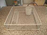 450mm x 450mm Glass Washer Basket