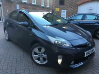TOYOTA PRIUS T SPIRIT 1.8 VVTI = HYBRID = PCO UBER READY = 2012 REG = NEWER SHAPE = £9950 ONLY =