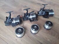 Daiwa Infinity-X 5000BR Reels With Spare Spools
