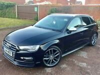 Audi A3 S3 2014 Semi-Auto 1.4 TFSi S3 Replica 18K Miles Full S3 Inside/Out Latest LED Headlights