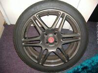 abarth grande punto alloy wheels