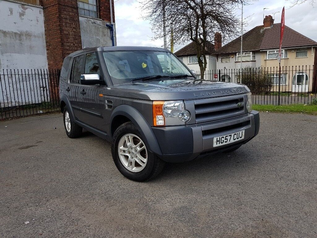 2007 LAND ROVER DISCOVERY 3 2.7 DIESEL 6 SPEED MANUAL LOW MILEAGE