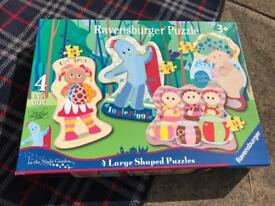 In the Night Garden puzzle set