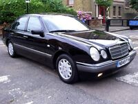1996 Mercedes-benz E class E230 Elegance Auto 52,000 MILES FULL SERVICE HISTORY
