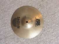 "sabian b8 10"" splash cymbal (used)"