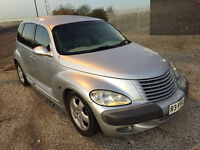 1 off custom moddified PT Cruiser Long MOT great driver 2.0 cc petrol with Private Plate