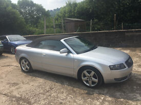 Audi A4 Cabriolet 2.4 Sport To Clear
