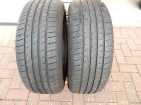 225/60/R17 HANKOOK Ventus Prime2 Tyres. Pair.