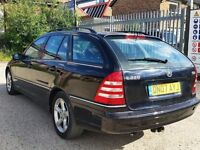 2007 Mercedes C220 cdi Estate Automatic Full Service History