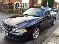 2003*VOLVO C70 2.0 TURBO CONVERTIBLE*ONLY 71000 MILES*1 OWNER FROM NEW*8 MONTHS MOT