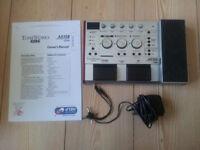 Korg AX10B Bass Guitar effect pedal.