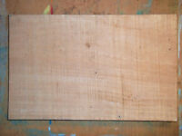 Obeche African Hardwood Tonewood Tone Wood Guitar Bass Size Body Blank One Piece