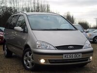 2005 FORD GALAXY GHIA TDI AUTO 2 OWNERS 90K FSH OUTSTANDING GENUINE EXAMPLE CRUISE CONTROL STUNNING