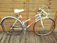 Serviced Ladies Retro Peugeot Racer Bike