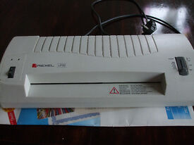 Rexel Laminator A3 or A4 sizes & lots of pouches (worth £10 on their own)