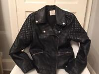 Zara girls biker jacket 9-10 years