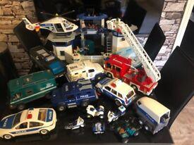 Playmobil emergency services bundle