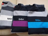 Three Kickers Jumpers - Size M - 100% Cotton - Excellent Condition