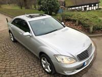 2009 MERCEDES BENZ S320 L 7G-TRONIC LWB SILVER SUNROOF LIMO