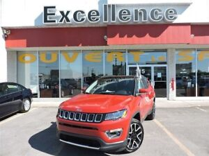 2017 Jeep Compass Limited+NAVI+PANO+CUIR