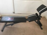 York 2 in 1 Dumbbell & Ab Bench (Weights Bench) - Knowle BS4