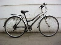 Ladies Hybrid/ Commuter bike by Reflex Trekking, Black, JUST SERVICED / CHEAP PRICE!!!