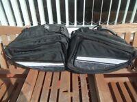 Textile throughover luggage