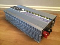NEW INTELLIGENT POWER INVERTER 1000W 12V PURE SINE WAVE