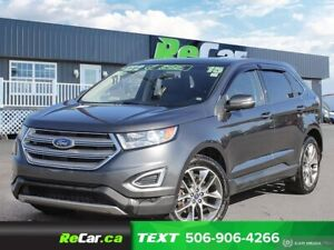 2015 Ford Edge Titanium NAV | HEATED/COOLED LEATHER | PANORAM...
