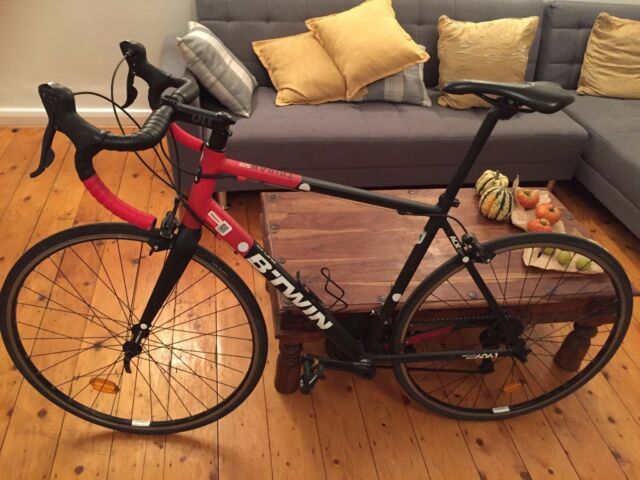 B'twin Triban 520 Road Bike - Excellent Condition - Shimano Sora -  Aluminium Frame - Size L | in Chelsea, London | Gumtree
