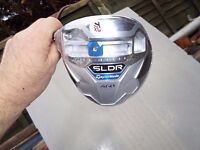 taylormade sldr left handed, 10.5 degree driver with a speeder 67 reg shaft, new