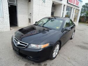 2008 Acura TSX 6 SPEED MANUAL NAVIGATION LEATHER SUNROOF