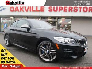 2015 BMW M235 | 6 SPEED M/T | SUNROOF | LEATHER | M PACKAGE
