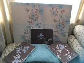 Curtains and canvases