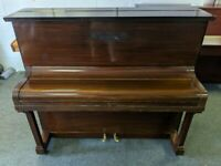 Lovely Mahogany 'Boyd London' Compact Upright Piano - CAN DELIVER