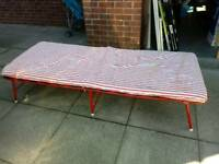 Folding guest bed good condition