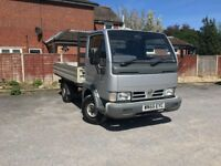 Nissan Cabstar 3.0 TD 34.10 Dropside Truck 2dr - New Mot Until April 2019 With No Advisories
