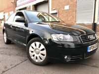 Audi A3 2004 1.6 Special Edition 3 door GENUINE LOW MILEAGE, 1 OWNER, 6 MONTH...