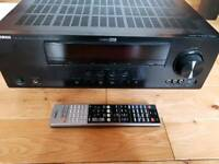 Yamaha AVR and 5.1 Surround Sound Speakers with stands