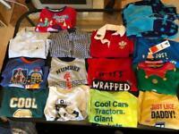 Boys aged 2-3 bundle of t shirts and shirts!