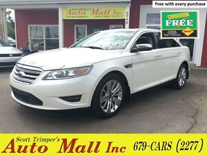 2010 Ford Taurus Limited AWD - Loaded!