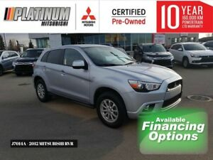 12 RVR SE-AWC, Powertrain Warranty Remaining, Bluetooth