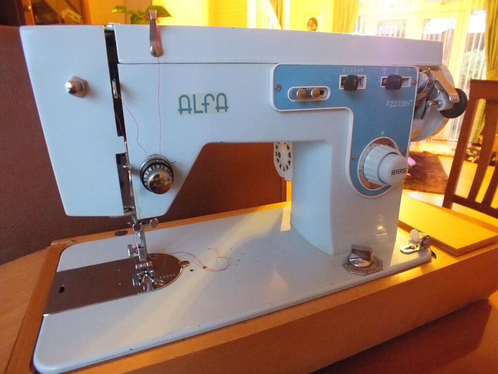 Alfa Electric Sewing Machine In Pontardawe Swansea Gumtree