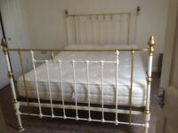 Iron Victorian Double Bed