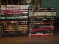 DVDs job lot