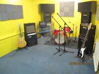 Music Rehearsal rooms available in North London