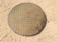 Cast Iron Manhole Cover 660Diameter 45mm Deep
