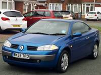 Renault Megane 1.6VVT Automatic Convertible 80k miles 10 months MOT Full Service History