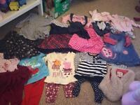 Huge bundle of girls 6-9 month clothes
